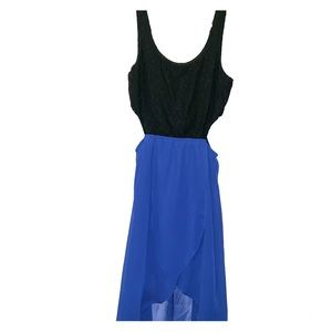 Black and Blue Small dress